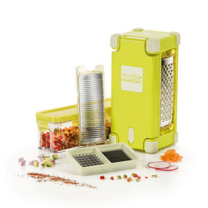 Genius Nicer Dicer Magic Cube Gourmet, 9-teilig