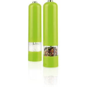 Gourmetmaxx Elektrische LED-Salz- & Pfeffermühle