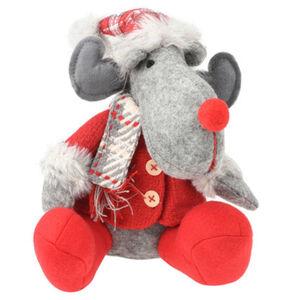 """Galeria Selection Weihnachtsfigur """"Rentier"""", 22 cm, sitzend, Mantel"""
