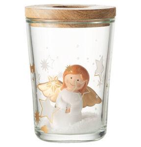 """Leonardo Deko-Set """"Marie"""", Vase und Teelicht, 17,5 cm, mehrfarbig"""