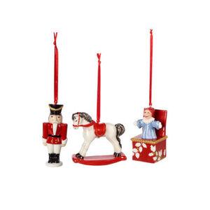 Villeroy & Boch Ornamente Spielzeuge Set 3tlg. Nostalgic Ornaments, mehrfarbig