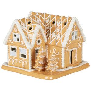 Villeroy & Boch Lebkuchenvilla Winter Bakery Decoration, braun