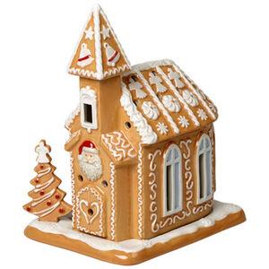 Villeroy & Boch Lebkuchenkirche Winter Bakery Decoration, braun