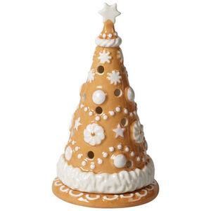 Villeroy & Boch Lebkuchenbaum klein Winter Bakery Decoration, braun