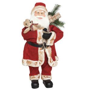 Galeria Selection Deko-Figur, Weihnachtsmann, 70 cm, rotwein