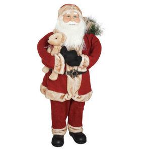 Galeria Selection Deko-Figur, Santa, 100 cm, rotwein