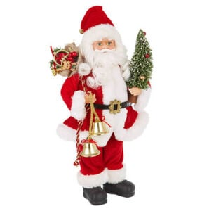 Galeria Selection Weihnachtsdekoration Santa stehend, 38 cm