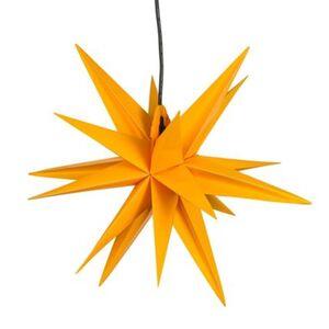 Pureday Beleuchtetes Deko-Objekt 'Stern', Gelb, Ø 50 cm, gelb