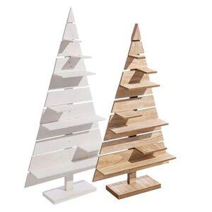 Pureday Deko-Objekt 'Tannenbaum mit Präsentationsfläche', groß