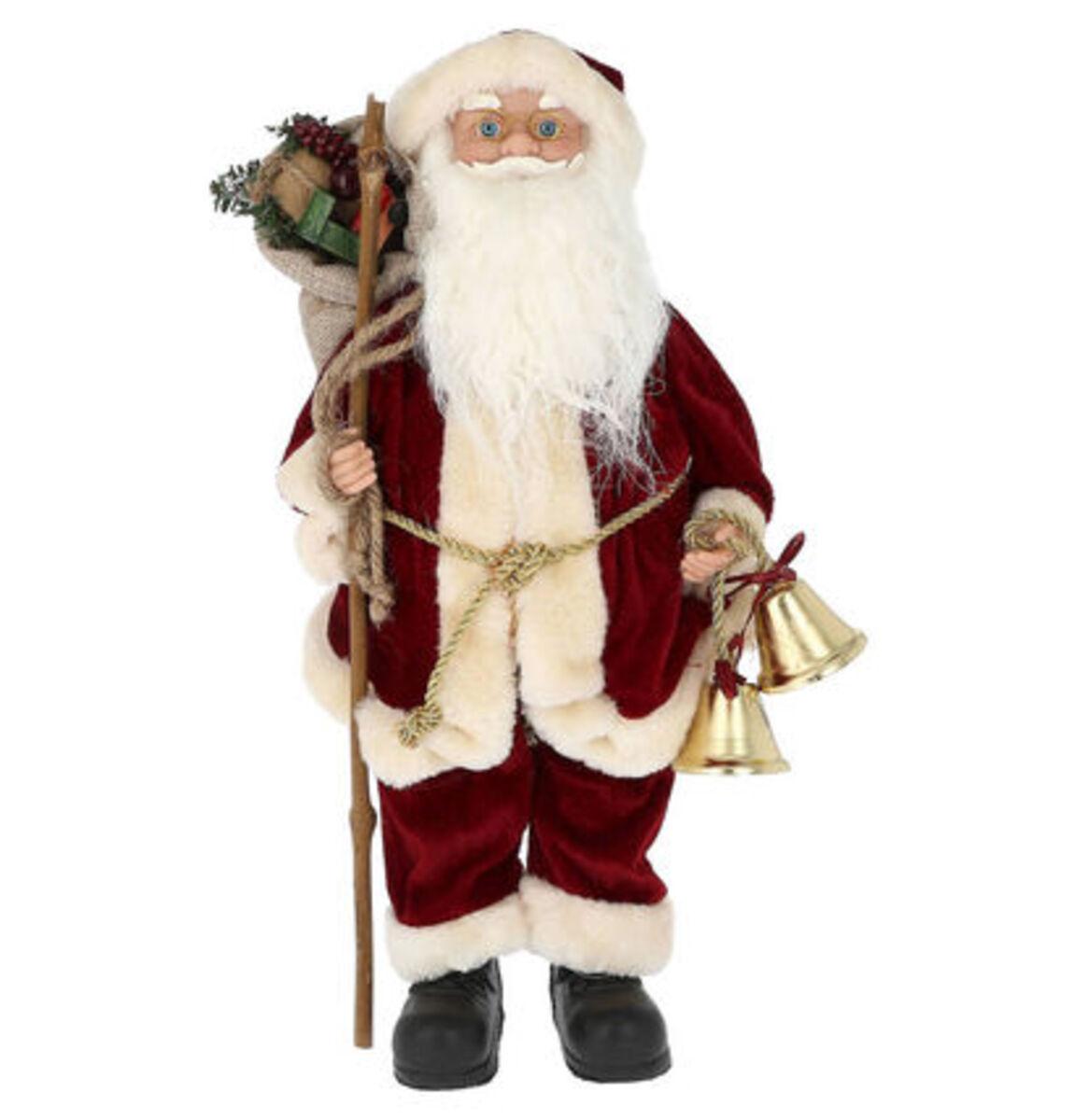 """Bild 1 von Galeria Selection Weihnachtsfigur """"Weihnachtsmann"""", 38 cm, bordeaux"""