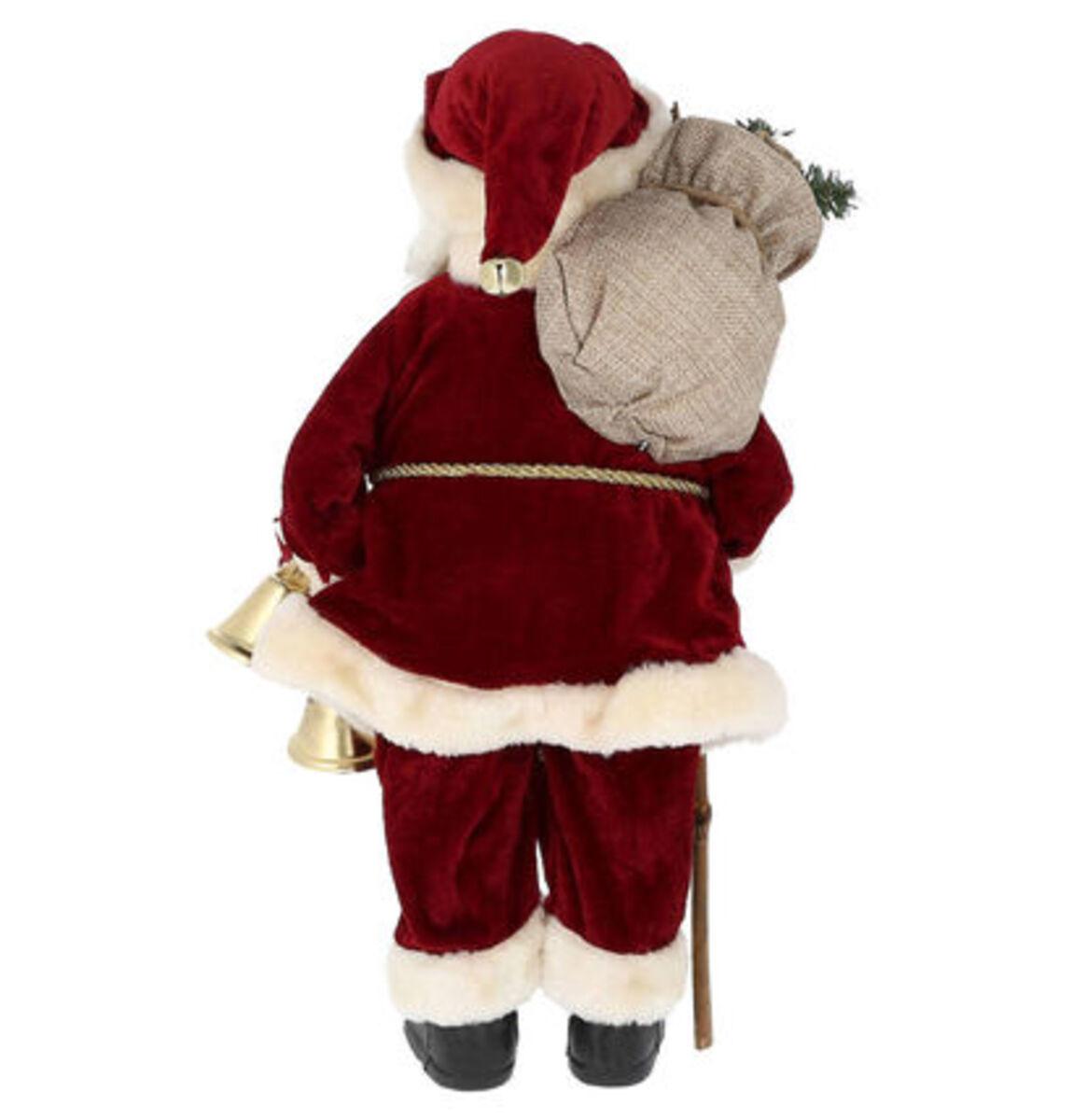 """Bild 2 von Galeria Selection Weihnachtsfigur """"Weihnachtsmann"""", 38 cm, bordeaux"""