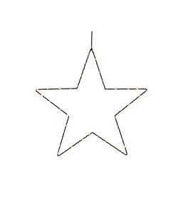 Dehner LED-Stern-Silhouette, 40 Lichter, Ø 40 cm, warmweiß
