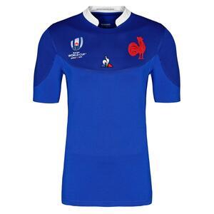 Rugbytrikot Replica Frankreich WM 2019 Kinder blau