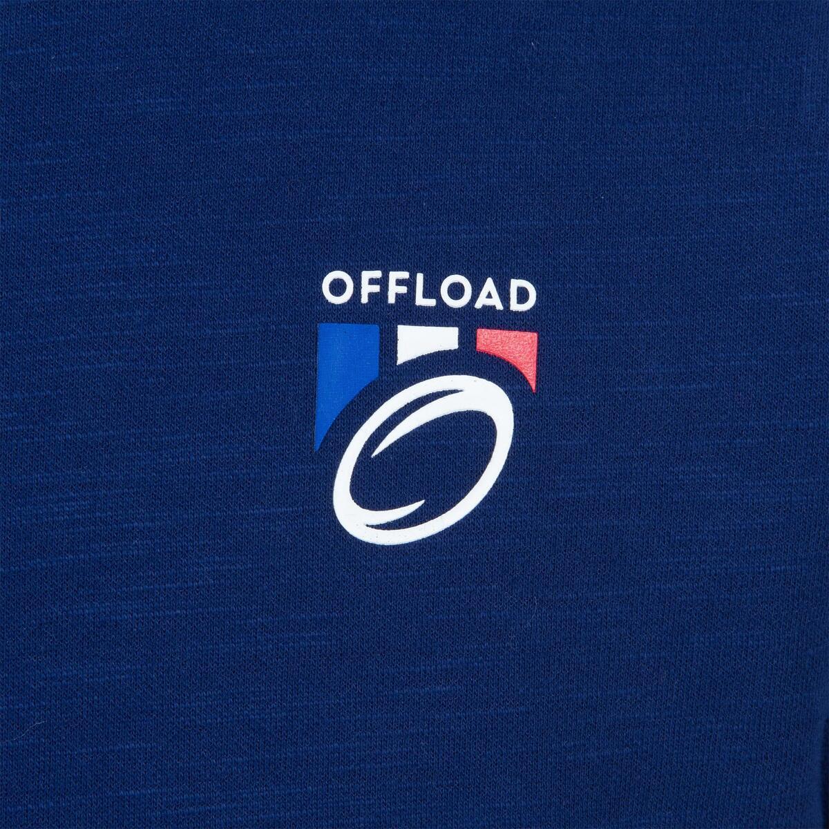 Bild 2 von Rugby-Fanshirt Frankreich 2019 Kinder blau