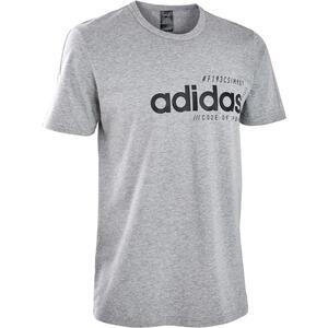 T-Shirt Regular Herren grau