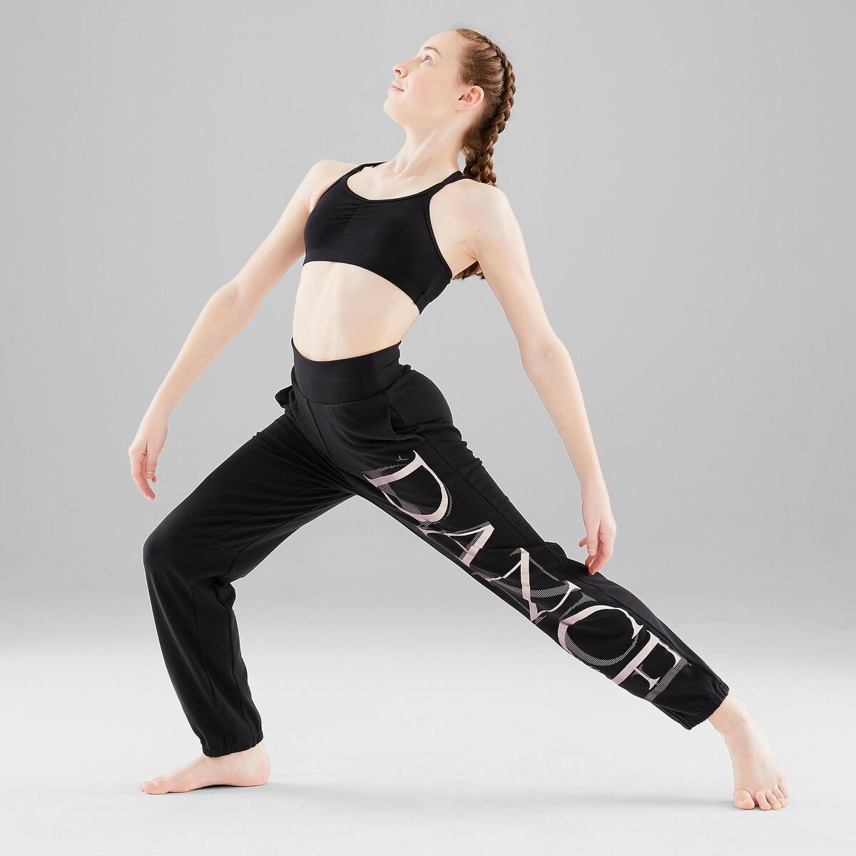 Bild 3 von Verstellbare Hose Modern Dance Mädchen schwarz