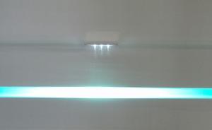 LED Glaskantenbeleuchtung 4-er Set weiß