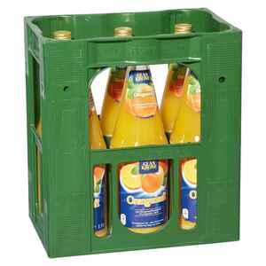 Glankrone Orange 100% Saft 6x1l                                                           (MEHRWEG)
