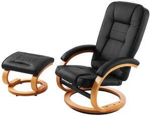 LIV&BO®  Relaxsessel mit Fußhocker