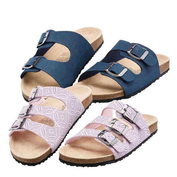 HIP&HOPPS® Kinder-Tieffußbett-Pantoletten von Kaufland
