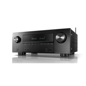 Denon AVR-X2600H 7.2 AV Receiver Schwarz 4K Dolby Atmos BT WLAN HEOS Alexa