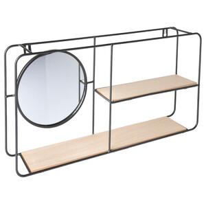 Wandregal mit Spiegel