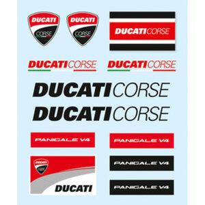 Ducati Aufkleber-Set        12-teilig
