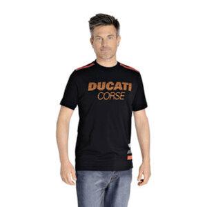 DUCATI CORSE        T-Shirt Stripes