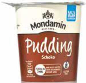 Mondamin Pudding im Snackbecher