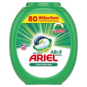 Ariel All in 1 Pods Universalwaschmittel 80 WL 0.25 EUR/1 WL