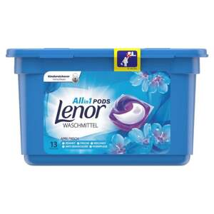 Lenor All in 1 Pods Vollwaschmittel Aprilfrisch, 13 WL 0.27 EUR/1 WL