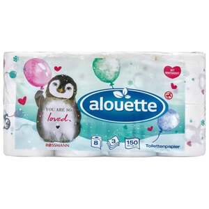 "alouette Toilettenpapier ""You are so loved"""