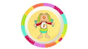 sigikid - Melamin-Teller Rainbow Rabbit
