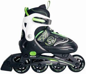 Kinder Inline-Skates Muuwmi - grün-weiß-schwarz - Größe 33-36