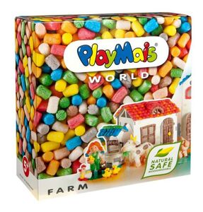 PlayMais WORLD Farm ca. 1000 Steine PlayMais 160012