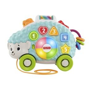 Fisher-Price BlinkiLinkis Igel, Baby-Spielzeug, Lernspielzeug, Nachziehtier