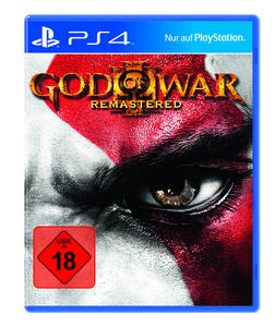 Sony Spiel God of War 3 PS-4 Remastered AK