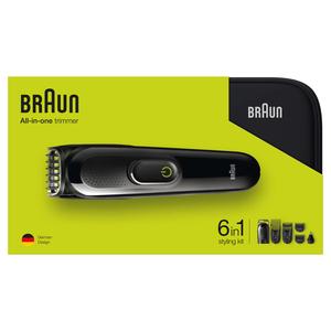 Braun Barttrimmer Multigroomer MGK 3921 + Organizer
