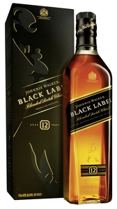 Johnnie Walker Black Label Blended Scotch Whisky | 40 % vol | 0,7 l