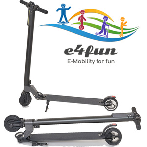 E4fun Marken E-Scooter für Erwachsene, Kinder, Roller, max 100 KG, max 20 km/h, Elektro Roller, 2019, 250 Watt, Faltbarer Roller, klappbar, elektroscooter,