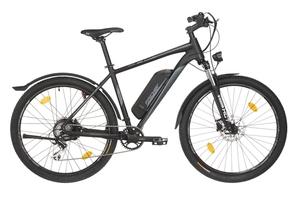 Fischer Mountain-E-Bike TERRA 2.0, 27,5 Zoll, graphitschwarz matt
