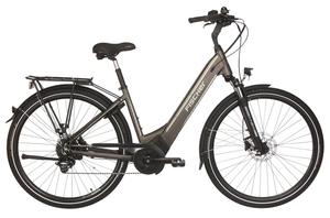 Fischer City-E-Bike CITA 6.0i, 28 Zoll, platingrau matt