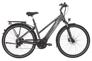 Fischer Trekking-Damen-E-Bike VIATOR 5.0i, 28 Zoll, schiefergrau matt