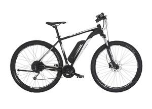 Fischer E-Mountainbike EM 1724, 29 Zoll, signalschwarz matt