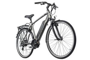 Alu E-Trekking Bike 28'' Adore Ancona Grau 250W Li-Ion 36V/14 Ah/504Wh 24 Gänge Adore 117E