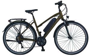 prophete Alu-Trekking-Damen-E-Bike Entdecker e9.6, 28 Zoll