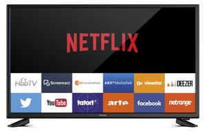 Dyon  FHD LED TV 100,3cm (39,5 Zoll) Smart40Pro, TripleTuner, SmartTV