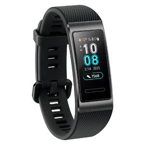 Huawei Band 3 Pro AMOLED Farbdisplay GPS-gebaut 5ATM Herzfrequenz Metallrahmen Smart Watch Band -Schwarz