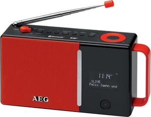 AEG DAB+/UKW Radio DAB 4158 rot