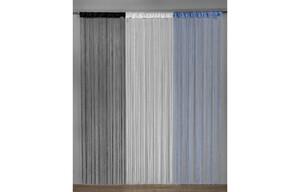 Fadenstore Pearl, weiß, ca. 90 x 245 cm
